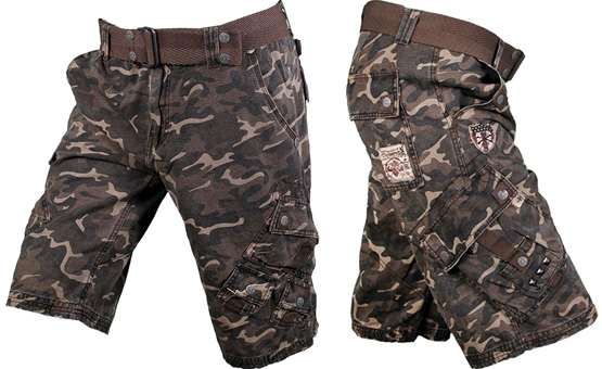 affliction-army-shorts