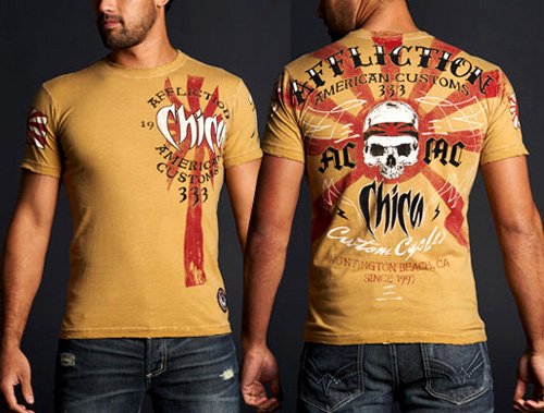 affliction-chica-tee