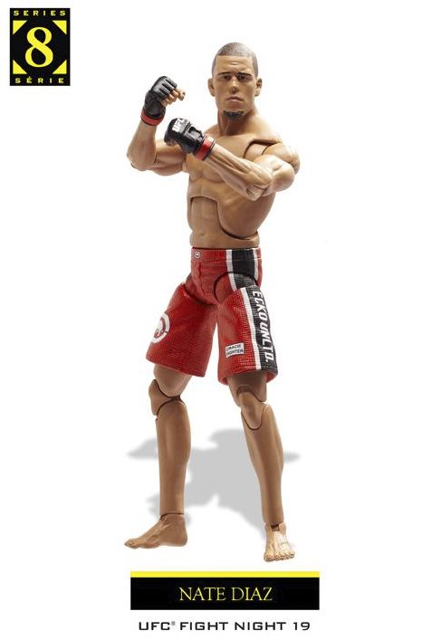 Jakks Ufc Action Figures Series 8 Fighterxfashion Com
