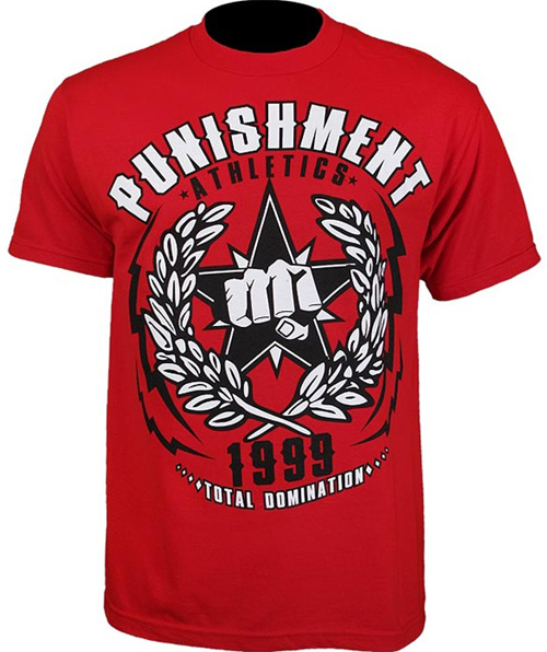 punishment-roy-nelson-ufc-130-tee-red