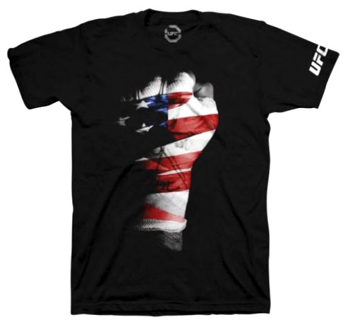 ufc-USA-fist-shirt