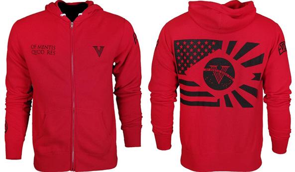 vxrsi-hoodie-red