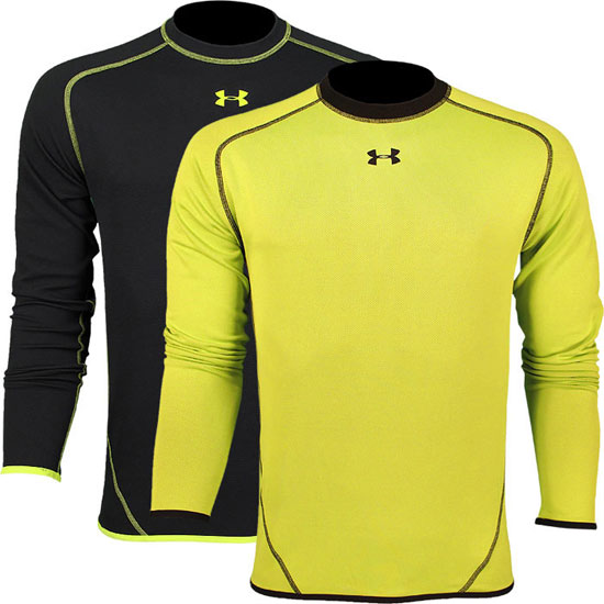 CLICK TO BUY: Under Armour AllSeasonGear Reversible Fitted Crew Shirt