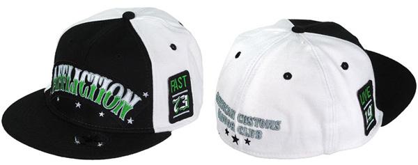 affliction hat black