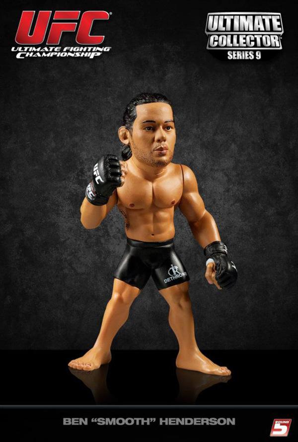 """Round 5 Ben """"Smooth"""" Henderson UFC action figure"""
