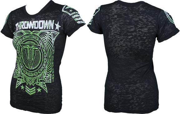 throwdown cyborg santos strikeforce shirt
