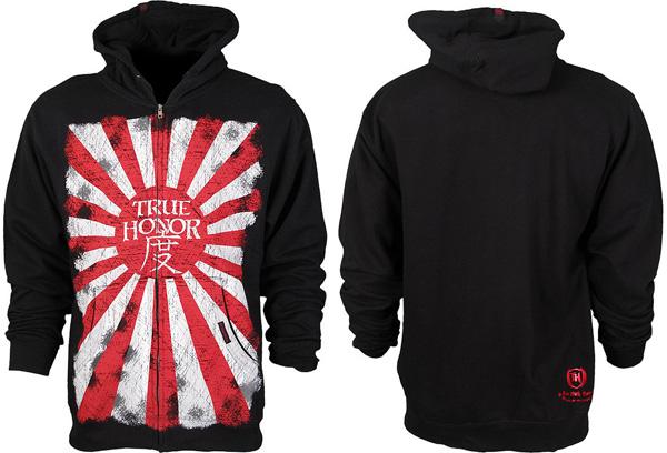 true honor mma hoodie