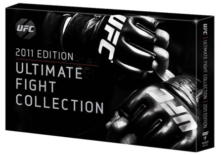 UFC ultimate fight collection dvd set