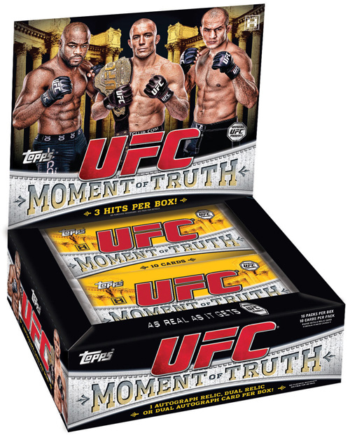 ufc topps trading cards