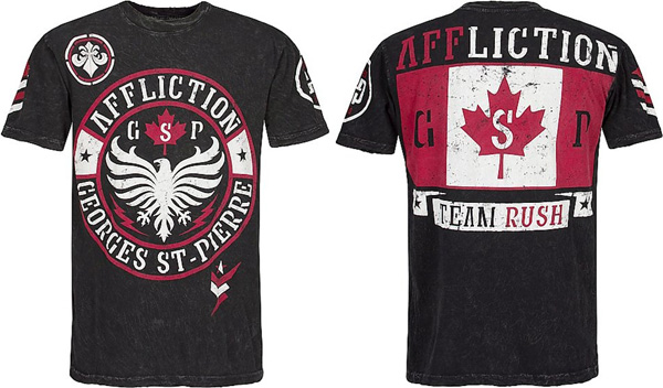 georges st pierre shirt