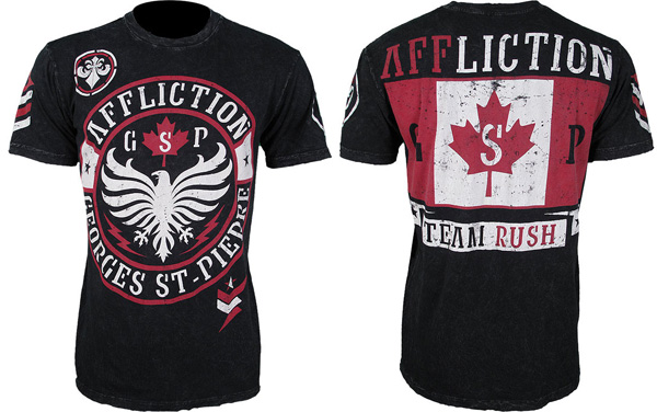 affliction gsp shirt black