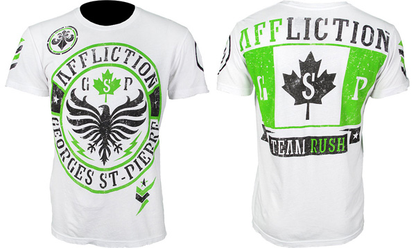 affliction gsp shirt white