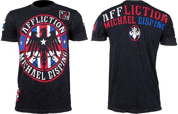 michael bisping ufc on fox 2 shirt