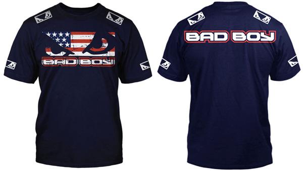 bad boy pro series american walkout shirt