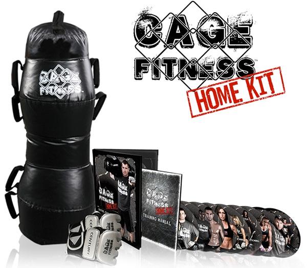 Cage Fitness Matt Hughes Home Mma Training Kit
