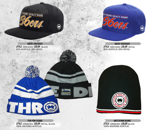 dethrone hats spring 2012 preview