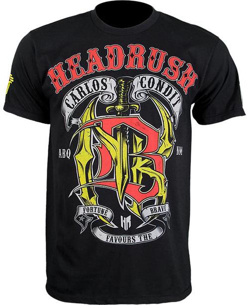 carlos condit shirt by headrush