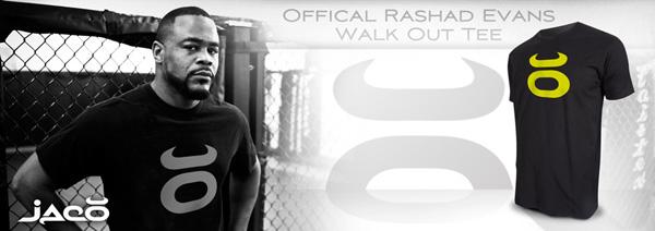 jaco rashad evans walkout shirt