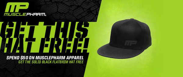 mma deal musclepharm free hat