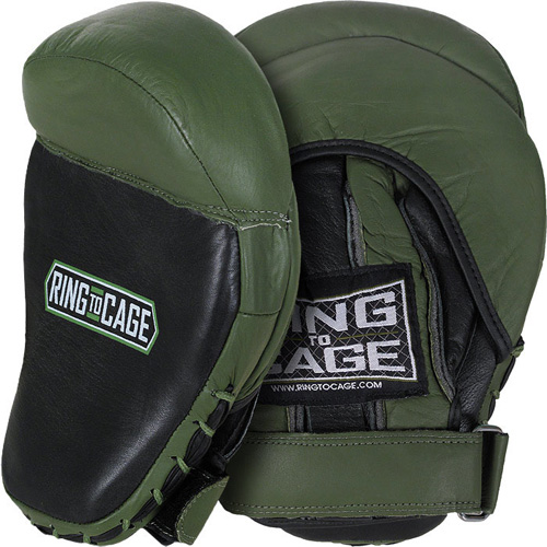 ring to cage mma punch mitts
