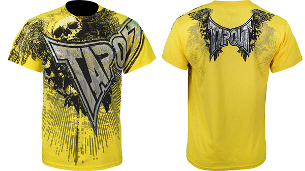 tapout-night-cesar-tee-yellow