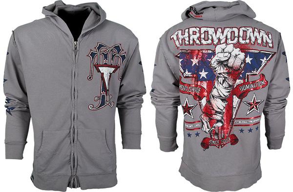 throwdown ajax zip hoodie