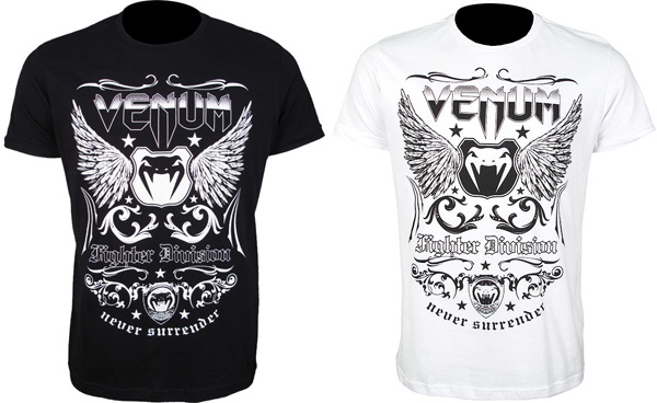 venum fighter division tee