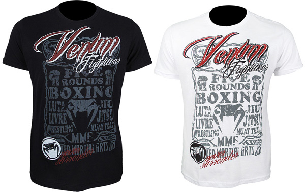 venum never surrender tee