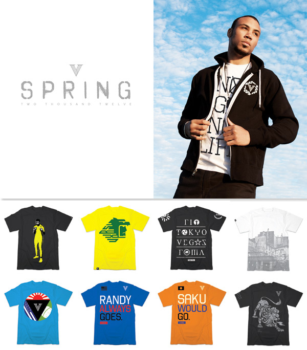 vxrsi spring 2012 clothing preview