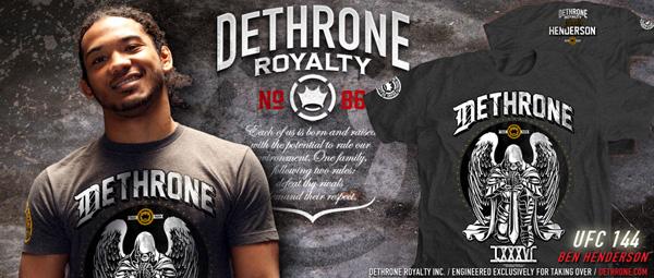dethrone-ben-henderson-ufc-144-shirt