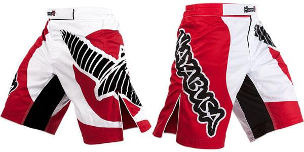 hayabusa-chikara-shorts-red