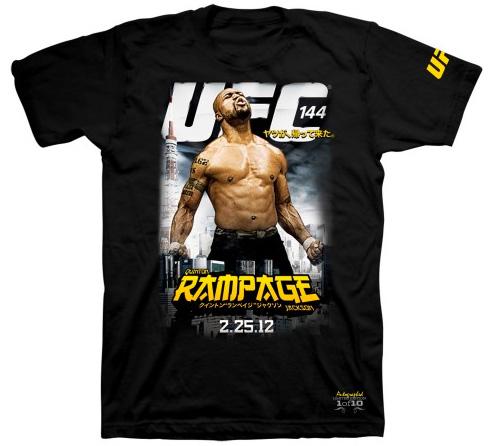 rampage-jakcson-ufc-144-autographed-shirt