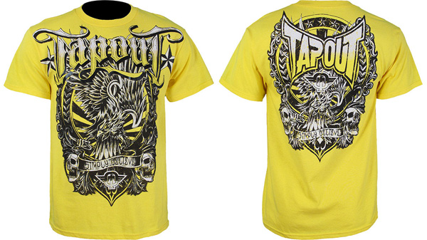 tapout-rising-eagle-shirt-yellow