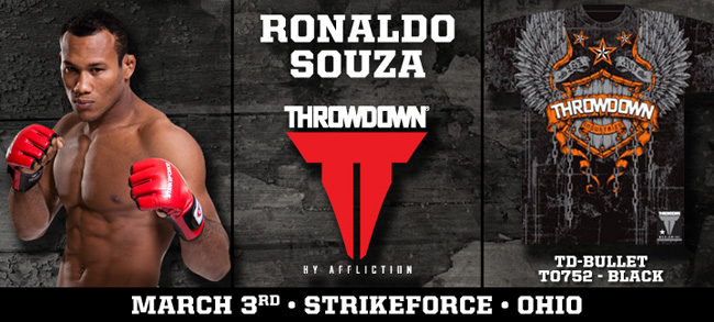 throwdown-jacare-souza-strikeforce-shirt
