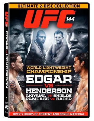 Tags: UFC 144 , UFC DVD