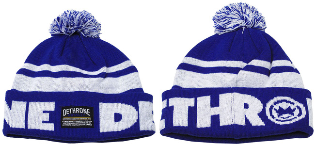 dethrone-pom-pom-beanie-blue