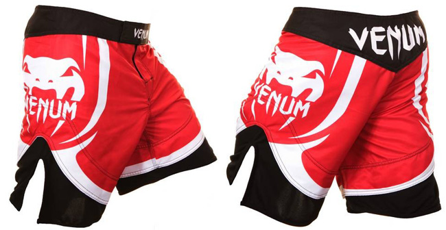 venum-electron-2-fight-shorts-red