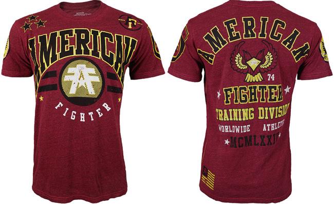 american-fighter-villanova-shirt-red