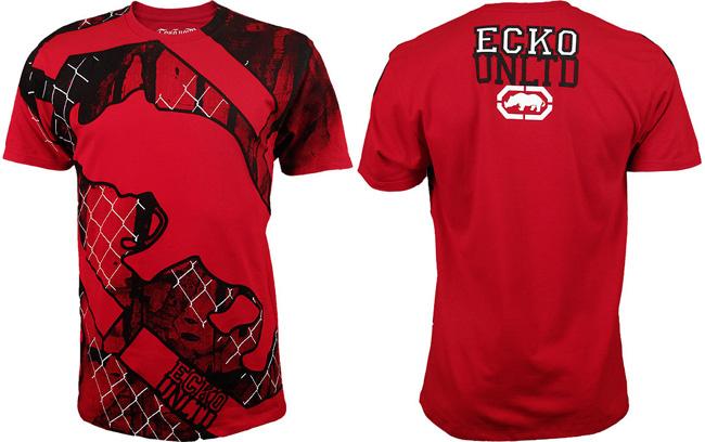 ecko-rhino-grid-shirt-red