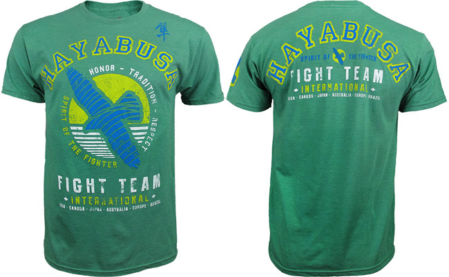 hayabusa-fight-team-shirt-green