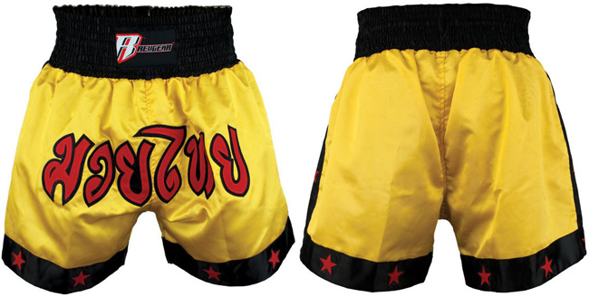 revgear-muay-thai-shorts-yellow