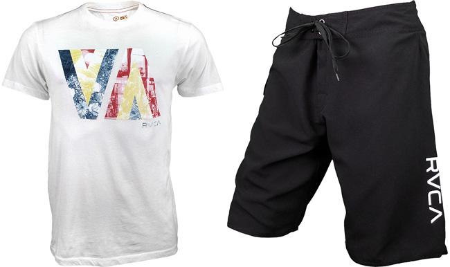rvca-shirt-and-shorts
