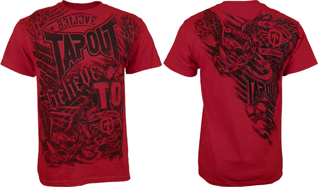 tapout-burned-shirt