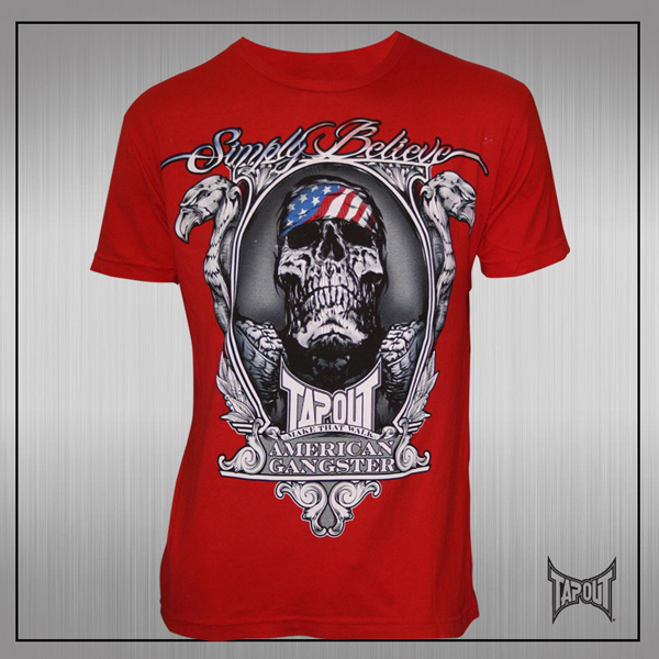 tapout-chael-sonnen-shirt-red