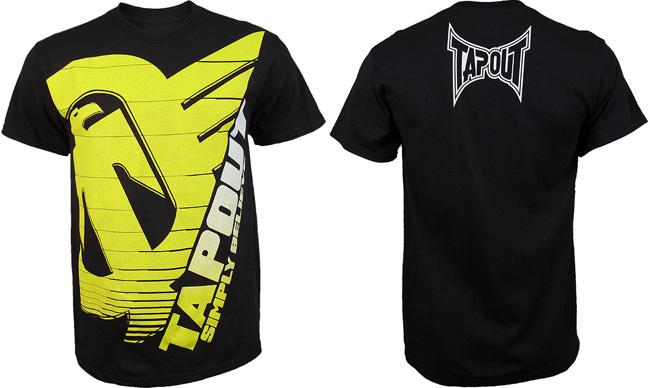tapout-silver-tech-shirt-black