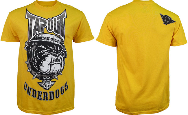 tapout-under-bulldog-shirt-yellow