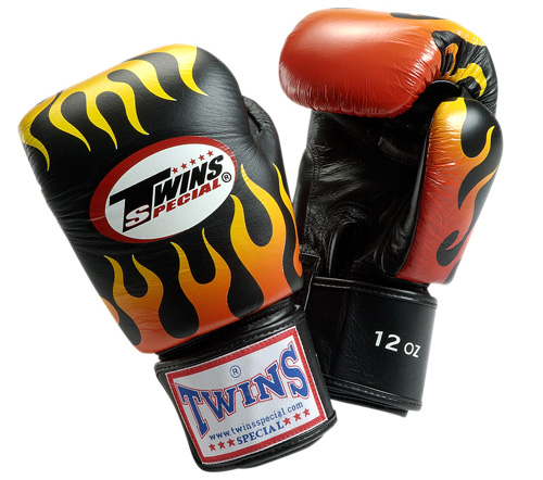 twins-flame-boxing-gloves