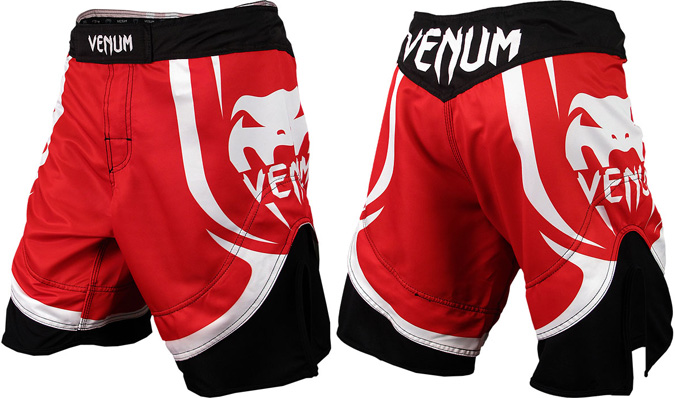 venum-electron-2.0-shorts-red