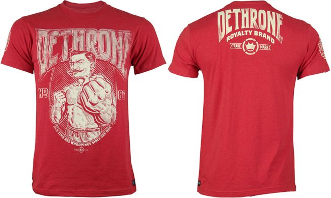 dethrone-since-day-one-shirt-red