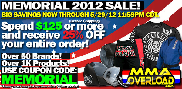 memorial-weekend-sale-2012-mma-overload